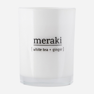 Geurkaars | White Tea & Ginger